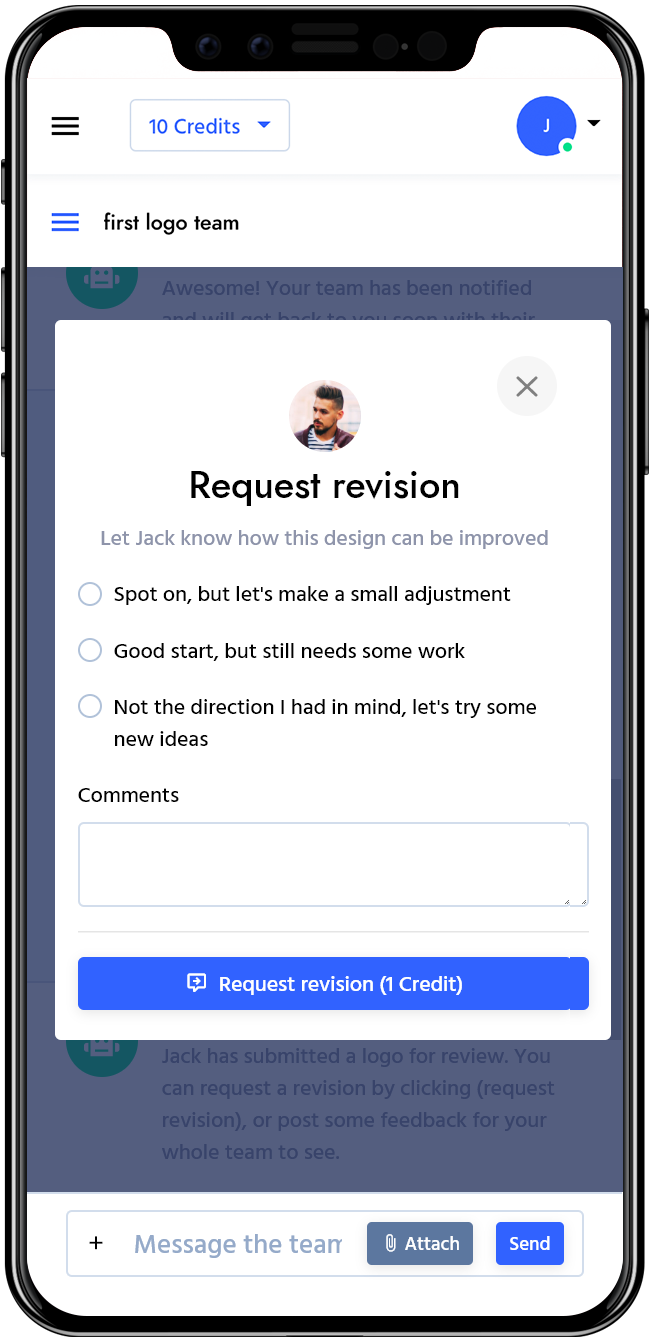 request revision